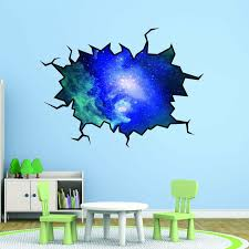 East Urban Home Outer Space Cosmic Hole Wall Decal Reviews Wayfair