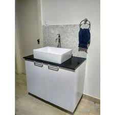 stainless steel wash basin cabinet