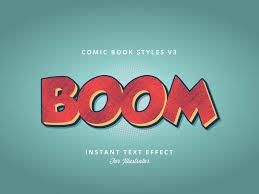 ic book text effect by emdadul huq