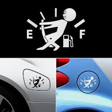 Car Sticker Funny Car Stickers High Gas Consumption Decal Fuel Gage Empty Stickers Car Styling Accessories For Volkswagen Audi Car Stickers Aliexpress