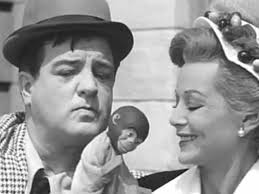 Lou Costello and Hillary Brooke - Sitcoms Online Photo Galleries