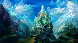hd wallpaper magical castle fantasy