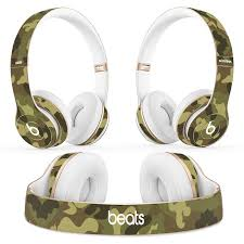 Camoulage Beats Headphones Wireless Solo Protector Skin Best Skins