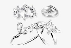 plain silver rings 925 sterling jewelry