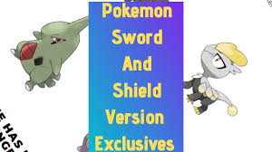 Pokemon Sword And Shield Version Exclusives and more! - YouTube