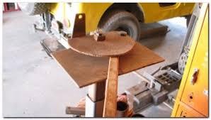 homemade square tubing bender