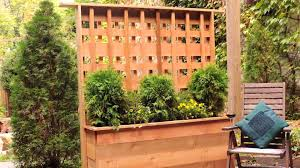 Planter Box With Trellis A Beautiful Means To Privacy This Old House