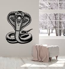 Vinyl Wall Decal Predator Tribal Room Snake Cobra Reptile Stickers Mur Wallstickers4you