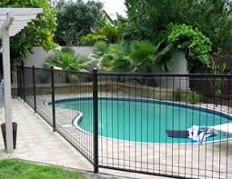 Steel Pool Fences Hexi Wrought Iron Fence Co