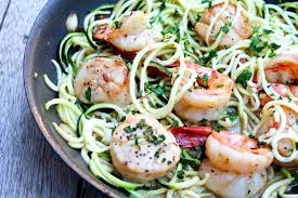 Scallop Scampi with Zucchini Noodles ...