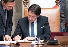Documento - Ecco il decreto Conte sull'emergenza coronavirus nella ...