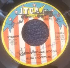 Hilda Thompson - Working Woman Boogie / Okie Boogie (1979, Vinyl ...