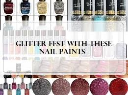 10 best glitter nail polishes and