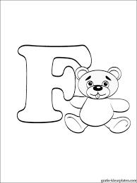 Letter F Kleurplaat Gratis Kleurplaten