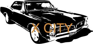 Classic Retro Old School Pontiac Gto Muscle Car Vintage Wall Art Decal Sticker Die Cut Vinyl Stencil Mural Home Room Decor Room Decoration Wall Art Decalsmuscle Car Aliexpress