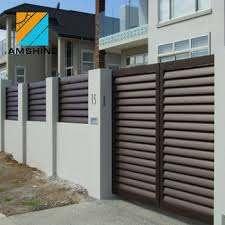 Modern Design Eco Friendly Horizontal Garden Aluminium Slat Fence Panels View Aluminium Slat Fence Amshine Product Details From Su Zhou Amshine Building Material Co Ltd On Alibaba Com