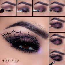halloween makeup looks with motives
