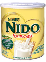 nido fortificada powdered milk nestlé