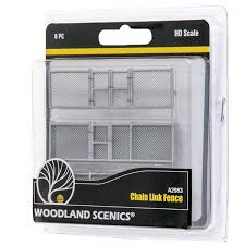 Ho Scale Chain Link Fence Scenic Express