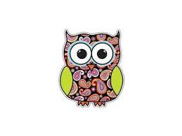 Owl Sticker Paisley Bird Decal By Megan J Designs Laptop Window Car Vinyl Sticker Newegg Com