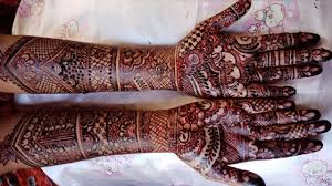 mehndi design of dulhan