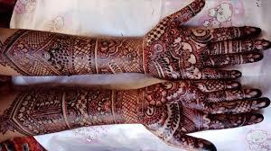 mehndi design bridal image