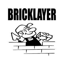 Bricklayer Mason Vinyl Sticker
