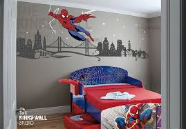 Children Wall Decals Wall Sticker Spiderman Super Hero Wall Decal Avengers 141 Via Etsy Spiderman Room Room Themes Kids Room Design