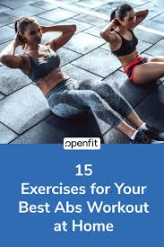 exercises for your best abs workout at