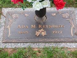 "Adair Mae ""Ada"" Reynolds (1895-1977) - Find A Grave Memorial"
