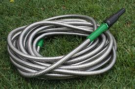 metal water hose try watching this