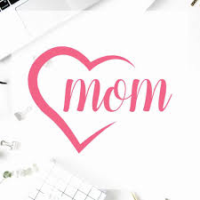 Happy Mother S Day Vinyl Decal Sticker Yeti Decal Sticker Cup Mom Birthday Custom Vinyl Art Stickers T180871 Wall Stickers Aliexpress