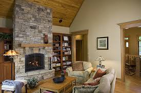 clean a stone fireplace