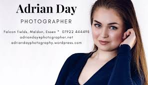 Adrian Day business Card in 2020 | Photography business cards, Photography  business, Day