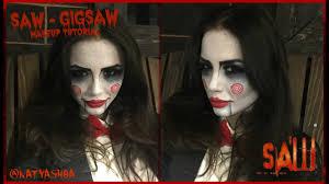 saw jigsaw puppet makeup