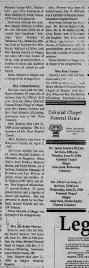 Obituary for Ida Mae Owens Butler Weaver - Newspapers.com