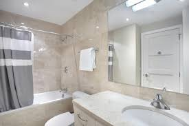 large mirrors in the bathroom