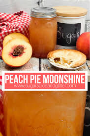 peach pie moonshine sugar e and