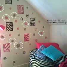 Shop Black Zebra Print Large Dots Wall Sticker Vinyl Decal 4 7 Inch Black Wall Vinyl Overstock 17950150
