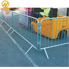 China New Fencing Panels Control Barrier Security Fence China Crowd Control Barrier Steel Barrcade