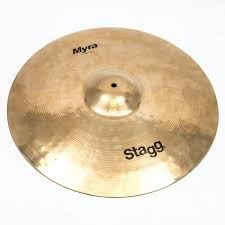 """Used Stagg 21"""" Myra Bell Ride Cymbal 