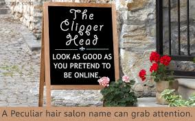 catchy names for your hair salon