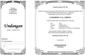 Contoh Surat Undangan Syukuran Ibadah Haji