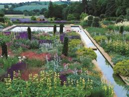 traditional english gardens with a