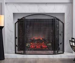 wandedesign large fireplace screen gate