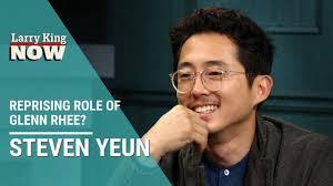 The Walking Dead's Steven Yeun: Up For Reprising Role of Glenn Rhee? -  YouTube