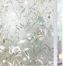 New Tulip Flower 3d Static Cling Privacy Etched Glass Window Film Drop Shipping Vinyl Christmas Decorative For Home Raamfolie Etched Glass Window Glass Window Filmetched Glass Aliexpress