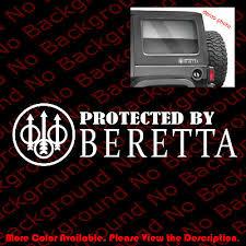 Beretta Firearms Gun Rights 3 Pistol Rifle Car Window Phone Vinyl Decal Fa029 Auto Parts And Vehicles Car Truck Graphics Decals Shaolinsindia Com