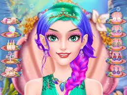 mermaid doll makeup salon s