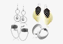 whole plain silver earrings 925